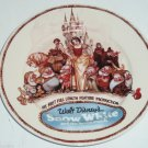 Disney Snow White & Seven Dwarfs Dopey Collector Plate 75th Anniversary Dillards