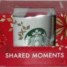 Starbucks Christmas Coffee Mug Shared Moments Cup 2013