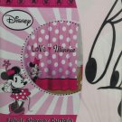 Disney Minnie Mouse Fabric Shower Curtain Bathroom Pink Love
