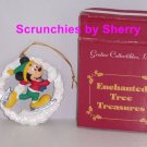 Disney Mickey Mouse Ornament Christmas Tree Grolier Enchanted Treasure