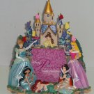 Disney World Disneyland Princess Cinderella Belle Ariel Photo Frame Picture New