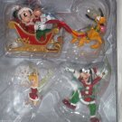 Disney Theme Park Ornament Set Tinker Bell Mickey Minnie Pluto Goofy Theme Parks