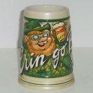 Budweiser St Patricks Day Erin Go Bud Irish Beer Stein Anheuser Busch Vintage