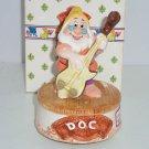 Disney Doc Dwarfs Snow White Music Box Schmid Heigh Ho Sir Lanka Playing Cello