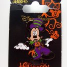 Disney Mickey Mouse Halloween Trading Pin Theme Parks New Carded