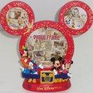 Disney World Mickey Minnie Mouse Collage Photo Frame Donald Goofy Theme Parks