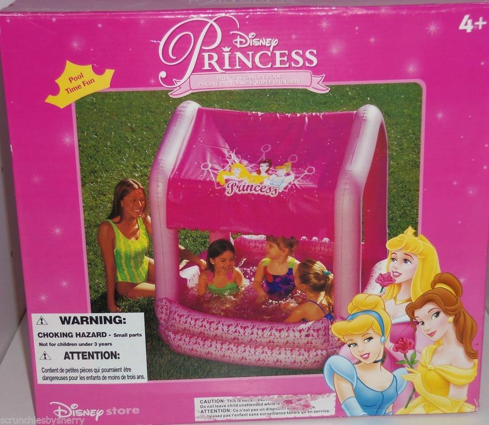 Disney Store Princess Canopy Swimming Pool Kid Cinderella Belle Sleeping Beauty