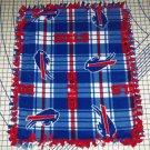 Buffalo Bills Blanket Plaid Fleece Baby Pet Dog NFL Football Shower Gift