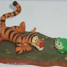 Disney Tigger Figurine You bet your Bounce we're Friends Frog Winnie Pooh