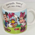 Disney Easter Mickey Minnie Pluto Chicks Coffee Mug Cup Applause