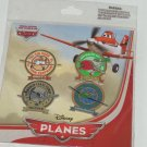 Disney Planes 4 Pin Set Theme Parks World Class Flyboy Airplanes New