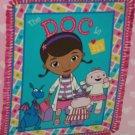 Disney Doc McStuffin Fleece Throw Blanket Lambie Stuffy Hallie