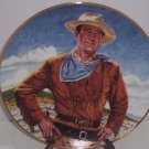 John Wayne Plate The Duke Collector  Franklin Mint Vintage Retied Cowboy Western