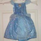 Disney Cinderella Dress Costume Princess Fancy  Theme Park Size XXS 2/3