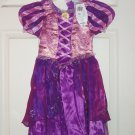 Disney Rapunzel Dress Costume Princess Fancy  Theme Park Size XXS  2/3