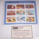 Disney Dumbo Animal Stories Postage Stamps Dumbo Grenada Vintage Retired