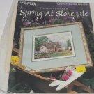 Thomas Kinkade Needlepoint Kit Spring At Stonegate Leisure Arts NIP Vintage