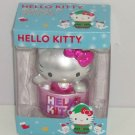 Hello Kitty Ornament Christmas Tree Holiday Pink Metallic  Hang Stand Alone