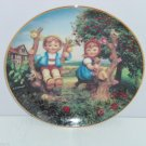 Hummels Apple Tree Boy Girl Companions Collector Plate Danbury Mint Retired