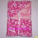 Angel Flannel Burp Cloths Pink Angel Girls Farm Animals Feeding Choose Print
