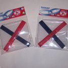 Boston Red Sox Rubber WristBands Bracelets MLB Baseball 2 Packs