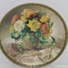 Vintage Splendor Collector Plate Vieonne Morley Romantic Roses Flower Floral