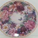 Circle Love Collector Plate Lena Liu Floral Greetings Flower Floral Butterfly