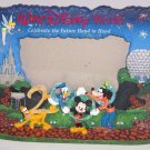 Walt Disney World Picture Photo Frame Tinker Mickey Doanld Goofy Pluto Vintage