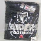 Oakland Raiders Sweatshirt Hoodie NFL Team Apparel AFC Football Adult New Med