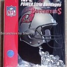 Tampa Bay Buccaneers Football Power Strip Bandages NFL Medical