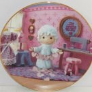 Precious Moments Plate Touched Hearts Hamilton Collection Collector Valentines