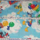 2 Disney Mickey Minnie Mouse Window Valance Dumbo Donald Duck Goofy Chip Dale
