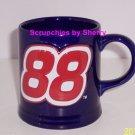Dale Jarrett Coffee Cup NASCAR Racing #88 Blue Mug