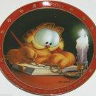 Garfield Oldie Collector Plate Dear Diary Charming Cat Jim Davis Danbury Mint