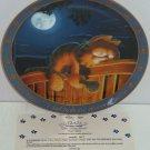 Garfield Oldie Collector Plate Dear Diary What a Night Jim Davis Danbury Mint