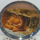 Garfield Oldie Collector Plate Dear Diary New Condo Jim Davis Danbury Mint