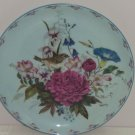 Floral Fancies Sitting Sunny Collector Plate Bird Cyndy Callog Retired Vintage