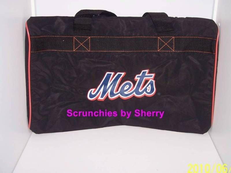 New York Mets Gym Bag Baseball Nylon Tote Carrying Handle MLB