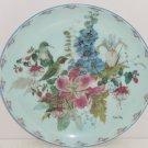 Floral Fancies Sitting Pretty Collector Plate Bird Cyndy Callog Retired Vintage