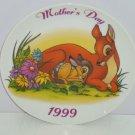 Bambi Plate Mothers Day Near Dear Deer Collector Grolier Disney Great Gift 1999