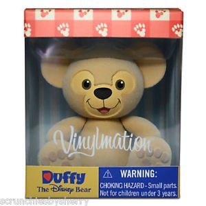 Disney Store Duffy Vinylmation Monty Maldovan Flocked Posable Theme Parks New