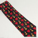 Disney Winnie Pooh Mens Neck Tie Necktie  Hearts Valentine Day Dad