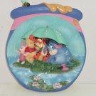 Disney Pooh Eeyore Tigger Piget Collector Plate Honeypot Adventures Bradford