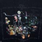 Nightmare Before Christmas T-Shirt Black XL Vintage Touchtone Tim Burton