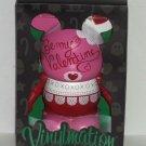 Disney Vinylmation Holiday Valentines Limited Edition 800 Pink Theme Parks NIB