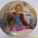 Annie & Sandy Orphan Columbia Picture Movie Collector Plate Knowles Vintage 1982