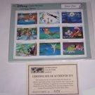 Disney Peter Pan Tinker Bell Postage Stamps Classic Fariytales Grenada Vintage