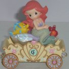 Walt Disney Showcase Ariel Fourth Birthday Figurine Precious Moments Mermaid