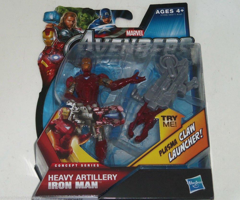 Disney Marvel Avengers Iron Man Heavy Artillery Claw Launcher Action Figure NIP
