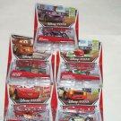 5 Disney Cars Race Team Mater Schnell Lightning McQueen Bernoulli Cartrip NIP